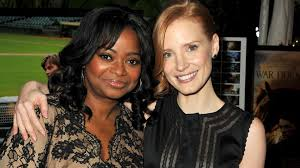 Here's How Jessica Chastain Helped Octavia Spencer Get Equal Pay    Entertainment Tonight