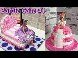 Birthday Cakes For Girls Design Ideas Barbie Cake Dress Decorating