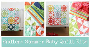 V and Co.: Endless Summer Baby Quilt Kits & Endless Summer Baby Quilt Kits Adamdwight.com
