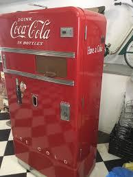 Vendo Vending Machine Codes Custom 48's Vintage Vendo V48 Coke Soda Vending Machine EBay