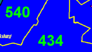 Area Code Chart In Numerical Sequence List Of Area Codes For Each State In The U S By Number And