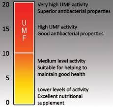 Manuka Honey Rating Chart I Want To Buy Manuka Honey What Is Umf 16 Mgo 400