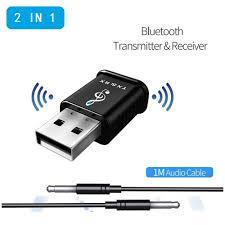 For TV PC Speaker USB <b>Bluetooth 5.0</b> Stereo Audio <b>Receiver</b> ...
