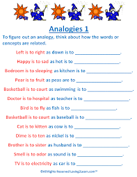 Analogies Worksheet and Video