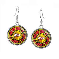 doctor strange earrings the avengers jewelry dr strange necklace superhero wedding party and