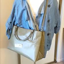 TRADE  NWT ✨LARGE✨ Coach Borough Bag olive grey
