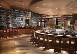 Elegant Japanese Style Restaurant Interior Design of Okada Las Vegas