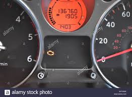 Why Would Engine Management Light Come On Nissan Xtrail Engine Management Light Stock Photo 173327999
