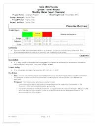 It Monthly Report Template