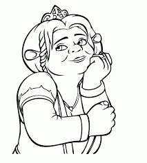 Small Picture Shrek Coloring Page Coloring Home