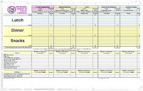 Daily Weight Log Sheet Jamesgriffin Co