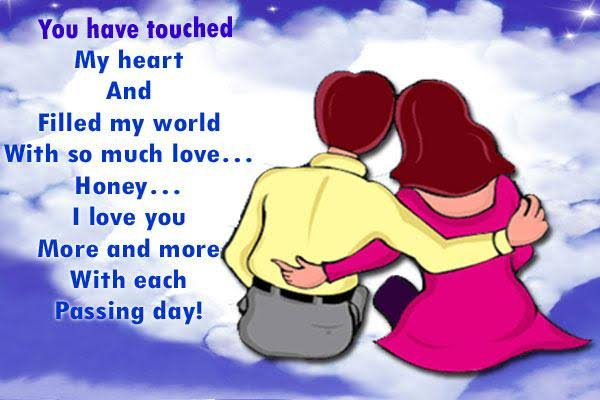 i love you sms in english