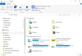 Windows 10 Explorer Make File Explorer Open To This Pc Instead Of Quick Access