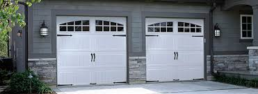 artistry collection doors create an authentic carriage house look at an affordable