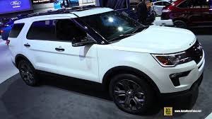 2018 ford explorer sport. delighful 2018 2018 ford explorer sport  exterior and interior walkaround 2017 ny auto  show in ford explorer sport