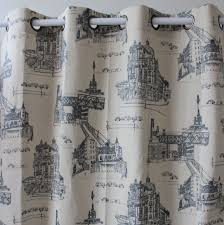 Printed Curtains Living Room City Print Curtains Promotion Shop For Promotional City Print