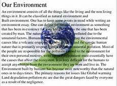 an essay on environment an essay on environment gxart  essay environment pollution gxart orgshort essay on environment pollution order essay slideshare net