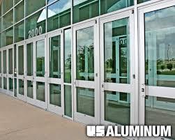 c r laurence u s aluminum series 800 durafront doors
