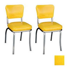 wooden dining chairs with arms.  Dining Richardson Seating 50u0027S Retro Contemporary Cracked Ice Yellow Side Chair On Wooden Dining Chairs With Arms C