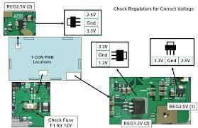lg tv fuse. lg 47lg90 led lcd tv - t\u0027con board voltage check fuse chart lg tv fuse c
