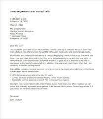 Salary Negotiation Email Salary Negotiation Letter 4 Free Word Documents Download Free