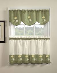 Kitchen Valances Rose Kitchen Curtains And Valances 7 Cute Kitchen Curtains And
