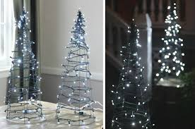 christmas tree lighting ideas. Tomato Cage Christmas Tree Lights Lighting Ideas