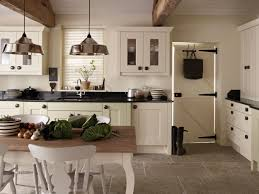 Stone Flooring For Kitchens Traditional Kitchens Design With European Style Ideas With