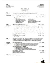 Perfect Resume Templates How To Make For Freshers Sevte