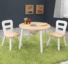 round table with chairs that fit under kids 3 piece round table and chair set dining