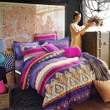 bedding set boho chic bedding sets with more beautiful bohemian bedding uk envogue colorful boho