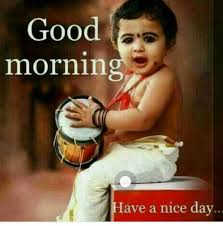 good morning cute baby couple