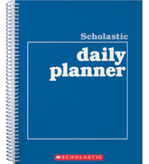 Student Daily Planner With Subjects Scholastic Daily Planner By