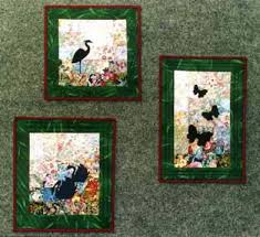 "Silhouettes On The Pond"" Watercolor Quilt Kit – Whims & silhouettes Adamdwight.com"