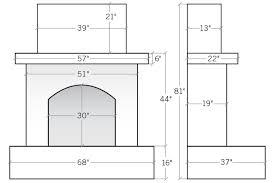 eldorado fireplaces dual fireplace house plan outdoor dimen full size