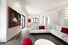 Red And White Living Room Decorating Minimalist Living Room Decor For Small Homes Living Room Modern