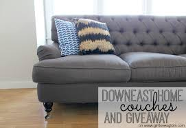Living Room Makeover Couches & Giveaway Girl Loves Glam