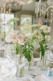 flowers wedding decor bridal musings blog: organic white flower centrepieces ria mishaal photography bridal musings wedding blog