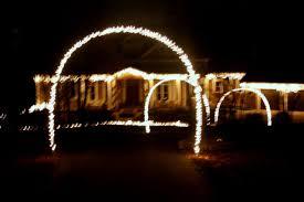 diy christmas lighting.  Lighting Outdoor Christmas Lights And Diy Arches Curb Appeal Lighting  Living With Diy Christmas Lighting