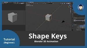 How to use shape keys in Blender | Animation in Blender 2.83 - YouTube