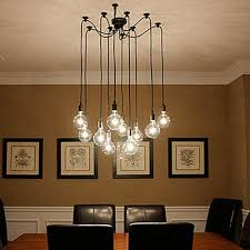 pendant lighting edison bulb. discount creative spider style 10 arm edison bulb pendant light modern vintage loft bar restaurant bedrooms e27 art lamps home decorative multi lighting p