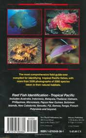 Australian Reef Fish Species Chart Reef Fish Identification Tropical Pacific Gerald Allen