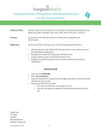 Pacu Nurse Charting Inpatient Cerner Navigation And Documentation Manualzz Com
