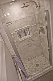 Bathroom Remodeling Home Depot Delectable Tile In Shower Stall MAAX Insight 484848 In To 484848 In W Swing