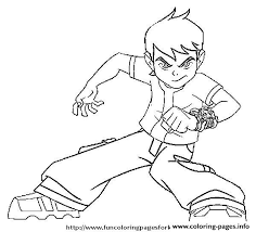 Small Picture BEN 10 Coloring Pages Free Printable