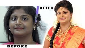 south indian bridal makeup for dark skin