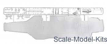 Italeri U S S Theodore Roosevelt Cv 71 Plastic Scale Model