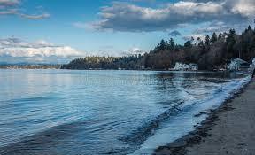 Dash Point Wa Tide Chart Dash Point Shoreline Landscape Stock Image Image Of
