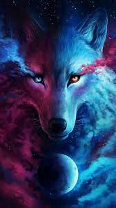 iPhone Wallpaper HD Cool Wolf - 2021 3D ...