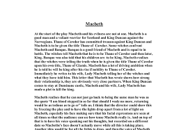 essay writing tips to macbeth downfall essay macbeth downfall essay leave behind those sleepless essay on macbeths downfall assay macbeth despite influences of the witches and lady